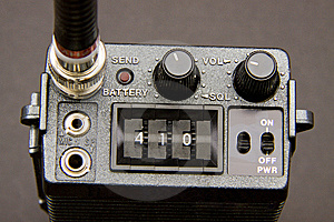 Handheld Transceiver Stock Images - Image: 14496124