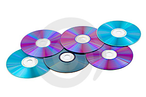Computer Disks Royalty Free Stock Image - Image: 14496706