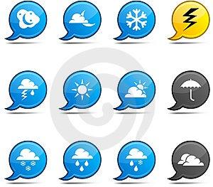 Weather Comics. Stock Photography - Image: 14498552