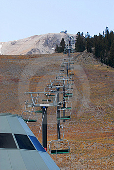 Ski Lift 2 Stock Photo - Image: 1455570