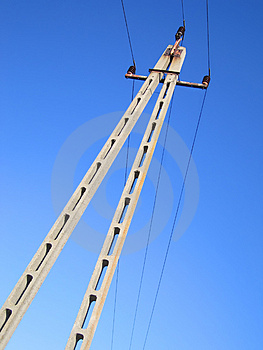 Utility Tower Royalty Free Stock Photo - Image: 1456425