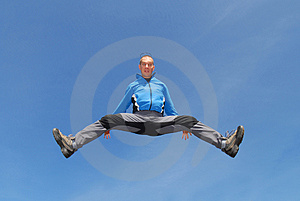 Jump For Joy Stock Photo - Image: 1456490