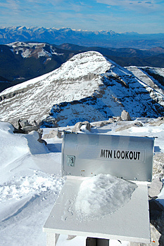 Mountain Lookout Stock Images - Image: 1457074
