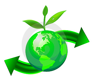 Green Globe Royalty Free Stock Photo - Image: 14501325