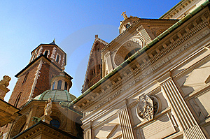 Wawel Royal Castle In Cracow Stock Photography - Image: 14504462