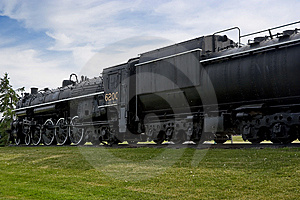 Vintage Historic Steam Train Engine Stock Photography - Image: 14506932