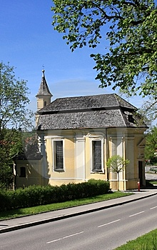 Chapel In Schongau Royalty Free Stock Photo - Image: 14507305