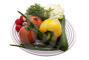 Ingredient For Salad Royalty Free Stock Photos - Image: 14508018