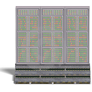 A Historic Science Fiction Computer Or Mainframe. Royalty Free Stock Image - Image: 14508386