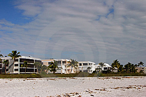 Oceanfront Beach Condominium Royalty Free Stock Image - Image: 14508446