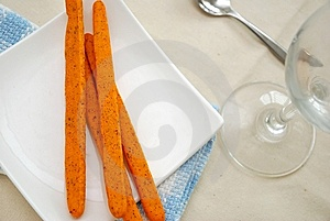 Nutritious Tomato Sticks Snack Stock Photos - Image: 14508863