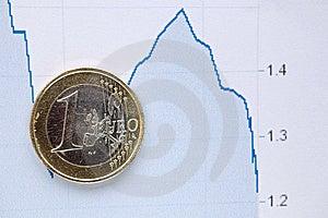 Euro Coin  Royalty Free Stock Photos - Image: 14510278
