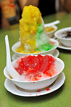 Ice Kacang And Red Ruby Desserts Stock Image - Image: 14510601
