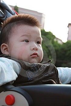 Baby Enjoy Sunshine Royalty Free Stock Photography - Image: 14516047