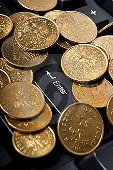 Money Key Royalty Free Stock Photography - Image: 14516487