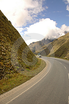 Roadtrip In The Mountains Stock Photos - Image: 14516843