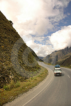 Roadtrip In The Mountains Stock Photos - Image: 14516863