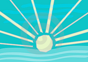 Sunny Illustration Stock Images - Image: 14517404