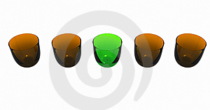 Colored Glasses Stock Image - Image: 14519131