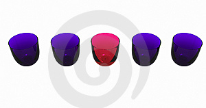 Colored Glasses Stock Photos - Image: 14519153