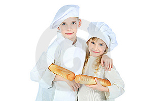 Little Cookers Stock Photography - Image: 14519922