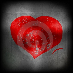 Red Heart - Eps 10 Royalty Free Stock Photo - Image: 14519945