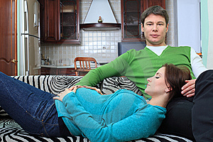 Married Couple Royalty Free Stock Images - Image: 14519969