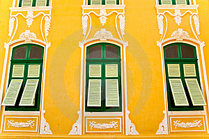 Thai Style Old Window Stock Photos - Image: 14522303