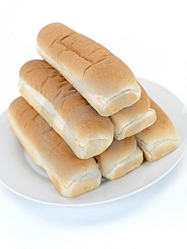 Hotdog Buns Royalty Free Stock Images - Image: 14522809