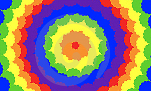 Rainbow Circles Royalty Free Stock Image - Image: 14522836