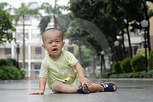 Crying Asian Baby Royalty Free Stock Photography - Image: 14523207