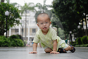 Crying Asian Baby Royalty Free Stock Photo - Image: 14523215