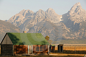 Morning Light In Grand Teton Royalty Free Stock Photos - Image: 14523238