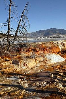 Plendor Of Mammoth Springs Stock Photography - Image: 14523352