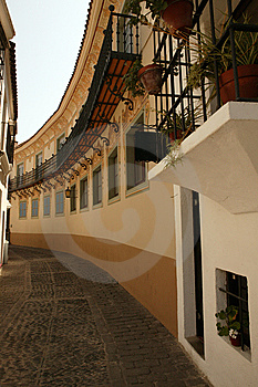 Spanish Pathway Royalty Free Stock Photos - Image: 14523408