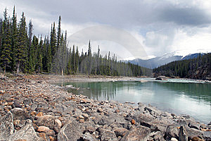 Athabasca River Royalty Free Stock Images - Image: 14523809