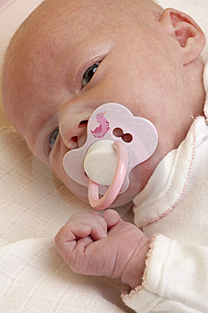 Baby's Portrait Royalty Free Stock Photography - Image: 14525027