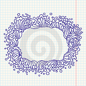 Doodle Frame Stock Photography - Image: 14525602