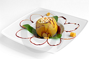 Baked Apple Royalty Free Stock Photos - Image: 14527018