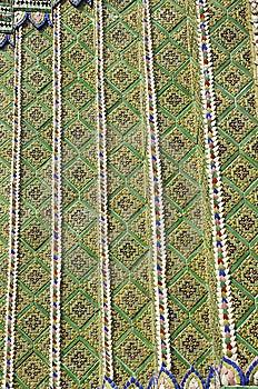 Pattern Mosaic Tile Asia Style Royalty Free Stock Photo - Image: 14527145