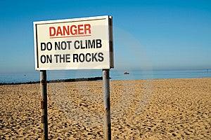 Danger Warning Sign Royalty Free Stock Image - Image: 14527846