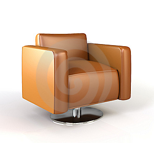 Modern Armchair. Royalty Free Stock Photos - Image: 14528188