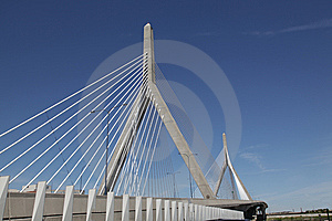Zakim Bridge Stock Photos - Image: 14528283