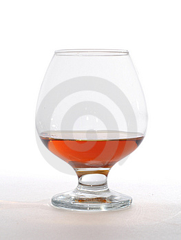 Glass Of Brandy Royalty Free Stock Image - Image: 14529216