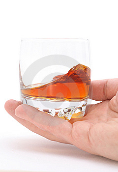 Glass Of Brandy Royalty Free Stock Images - Image: 14529229