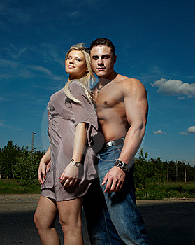 Jeunes Couples Photographie stock - Image: 14530052