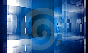 Indoor Building. Office Space Royalty Free Stock Photography - Image: 14534117