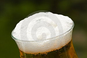 Glass Beer Or Lager,in The Restaurant Royalty Free Stock Photography - Image: 14536287