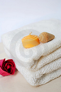 Simple Spa And Wellness Concept Royalty Free Stock Image - Image: 14538586