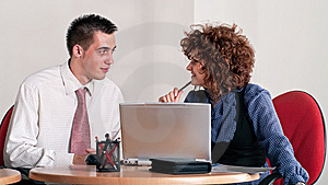 Business Colleague Royalty Free Stock Photos - Image: 14540108